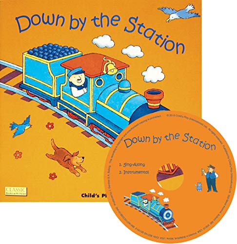 9781846432729: Down by the Station (Classic Books with Holes US Soft Cover with CD)