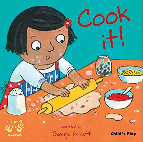Cook It! (Helping Hands) 9781846432842 Who's home for dinner? What shall we cook? What do we need to buy? And don't forget the washing-up! Helping with real tasks is a natural