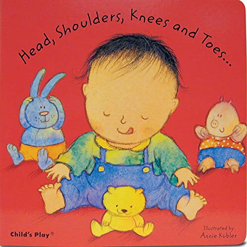9781846433078: Head, Shoulders, Knees and Toes... (Baby Board Books)