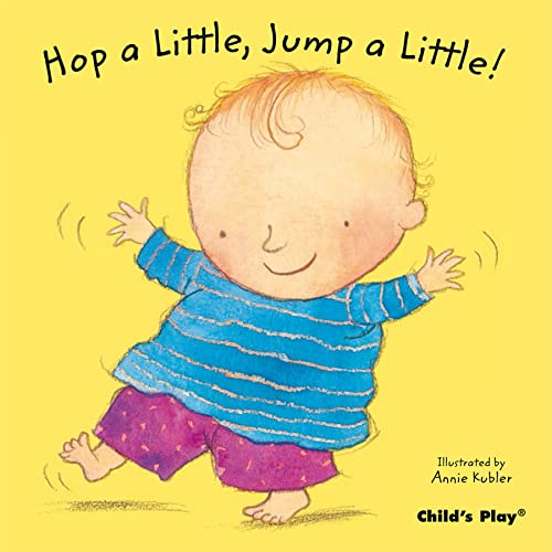 9781846433412: Hop a Little, Jump a Little! (Baby Board Books) (Nursery Time)