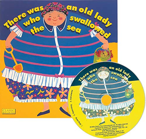 9781846433634: There Was an Old Lady Who Swallowed the Sea (Classic Books with Holes 8x8 with CD)