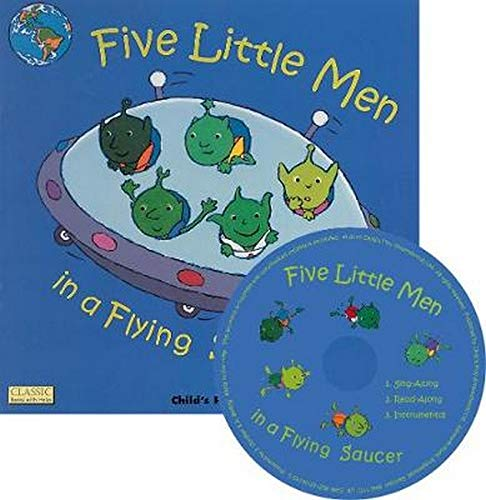 9781846433825: Five Little Men in a Flying Saucer (Classic Books with Holes Soft Cover)