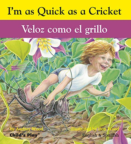 9781846434068: Veloz como el grillo / I'm as Quick as a Cricket (Spanish and English Edition)