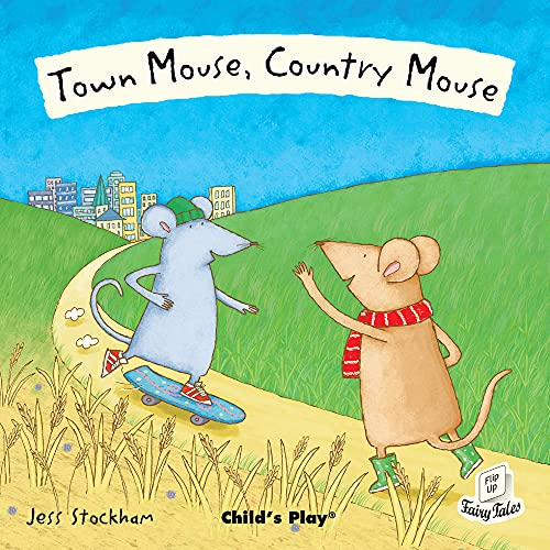 9781846434792: Town Mouse, Country Mouse (Flip Up Fairy Tales)