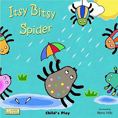 9781846435096: Itsy Bitsy Spider (Classic Books With Holes)