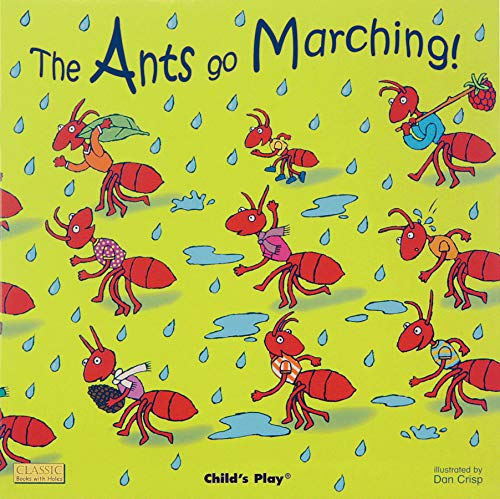 9781846436185: The Ants Go Marching (Classic Books with Holes 8x8)