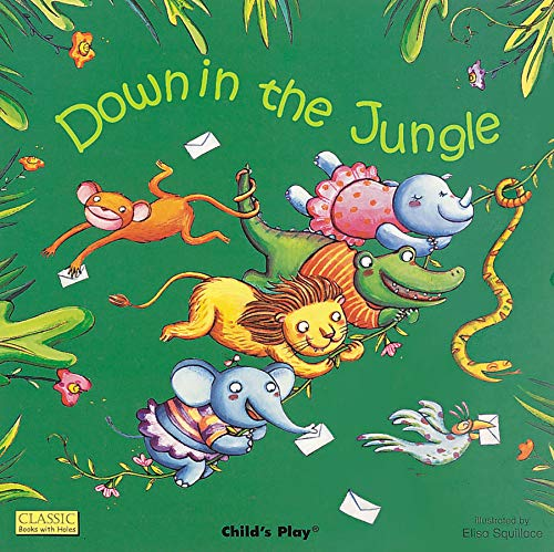9781846436192: Down in the Jungle (Classic Books with Holes 8x8)
