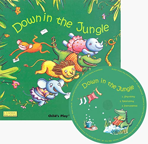 9781846436239: Down in the Jungle (Classic Books With Holes)