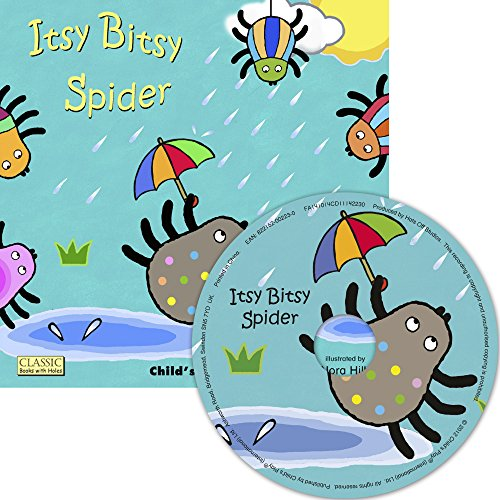 9781846436765: Itsy Bitsy Spider (Classic Books with Holes UK Soft Cover with CD)