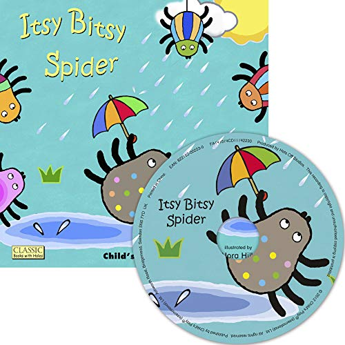 9781846436888: Itsy Bitsy Spider (Classic Books with Holes US Soft Cover with CD)