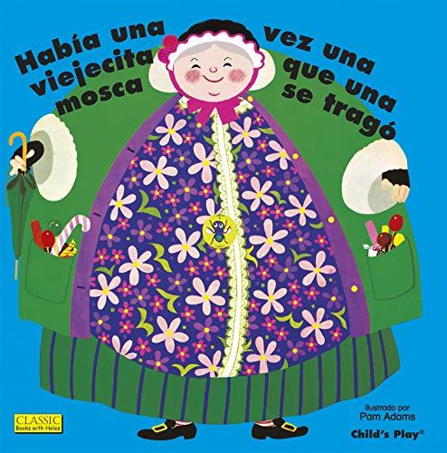 9781846439377: Habia Una Vez Una Viejecita Que Una Mosca Se Trago. (Classic Books with Holes 8x8) (Spanish Edition) (English and Spanish Edition)