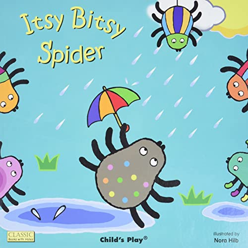 9781846439742: Itsy Bitsy Spider (Classic Books With Holes)