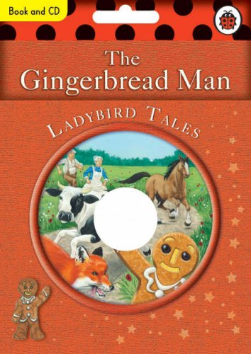 9781846460586: The Gingerbread Man Book and CD: Ladybird Tales