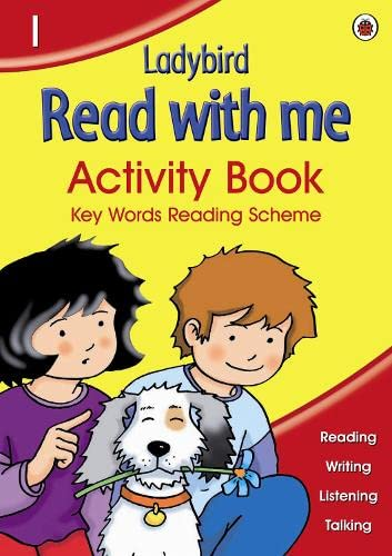 Read With Me Activity Book Volume 1 (Bk. 1) (9781846463464) by Ladybird