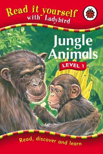 Read It Yourself Jungle Animals Level 1 (Read It Yourself - Level 1) (9781846465239) by Ladybird