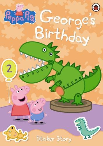 9781846468230: Peppa Pig: George's Birthday Sticker Book