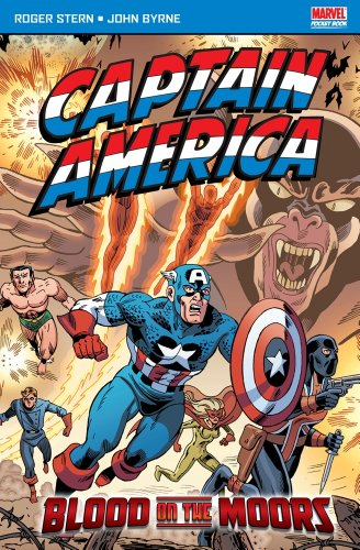 9781846531408: Captain America Blood on the Moors (Marvel Pocketbooks)