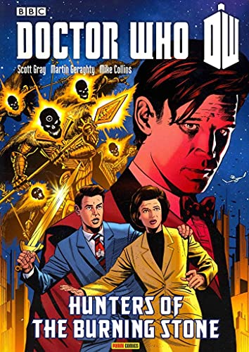 Doctor Who: Hunters of the Burning Stone GN (Doctor Who (Panini Comics)): Scott Gray; Martin   ...