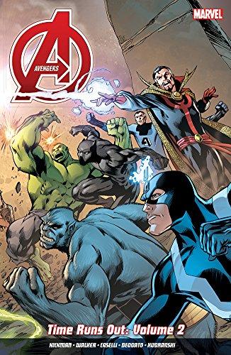 Avengers: Time Runs Out Vol. 2: Jonathan Hickman; Stefano Caselli