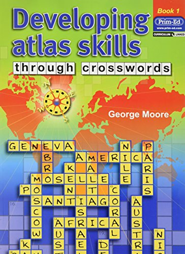 9781846540301: Developing Atlas Skills Through Crosswords: Bk. 1