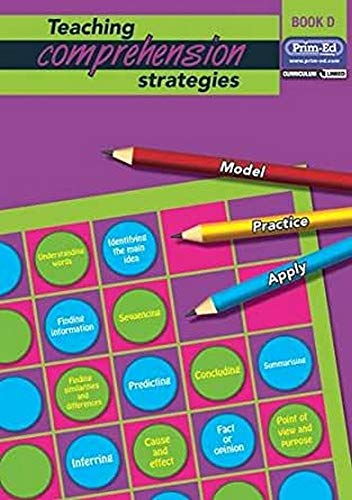 Teaching Comprehension Strategies: Bk. D: Developing Reading Comprehension Skills: ...