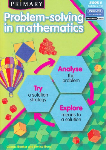 9781846541865: Primary Problem-solving in Mathematics: Bk.E: Analyse, Try, Explore