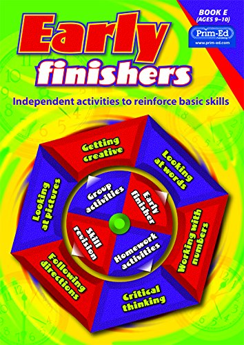 9781846542169: Early Finishers: Bk. E: Independent Activities to Reinforce Basic Skills