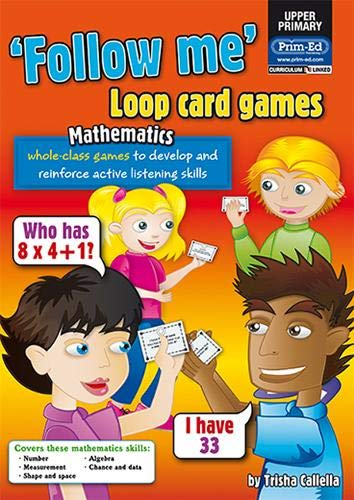 Loop Card Games - Maths Upper (Follow Me!): RIC Publications, Callella, Trisha