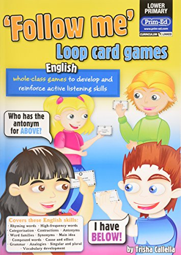 Loop Card Games - English Lower (Follow Me!): RIC Publications, Callella, Trisha