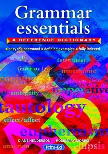 9781846542398: Grammar Essentials: A Reference Dictionary