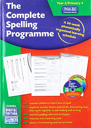 9781846545559: The Complete Spelling Programme Year 3/Primary 4: A 36-week Phonetically Organised Learning Schedule