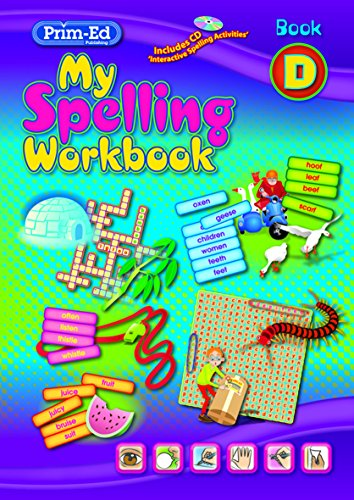 9781846548246: My Spelling Workbook: Book D