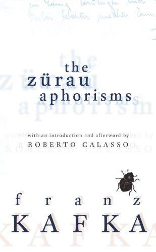 9781846550096: The Zurau Aphorisms