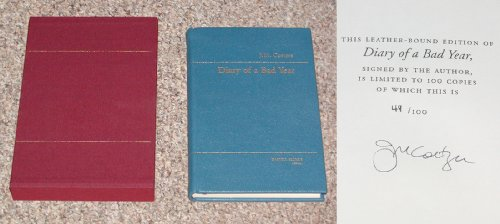 9781846551666: Diary Of A Bad Year - 1st Edition/1st Printing