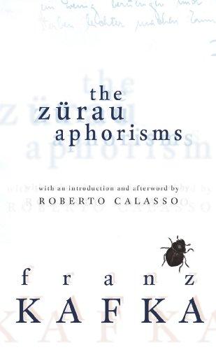 9781846558382: The Zurau Aphorisms