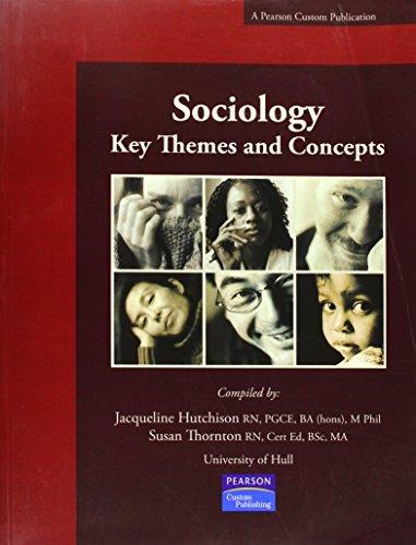 9781846588334: Sociology (Custom Pack for Nursing - Just Socilogy on It's Own)