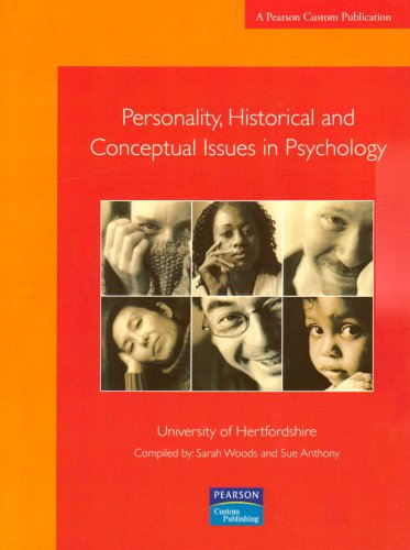 Personality, Historical and Conceptual Issues in Psychology: Sue, Anthony