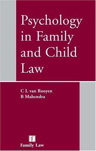 9781846610677: Psychology in Family and Child Law