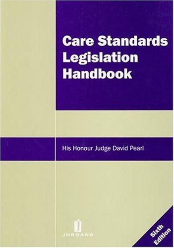 9781846611049: Care Standards Legislation Handbook: Sixth Edition