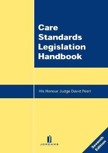 9781846611650: Care Standards Legislation Handbook: Seventh Edition