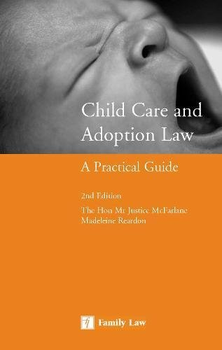 9781846611889: Child Care and Adoption Law: A Practical Guide