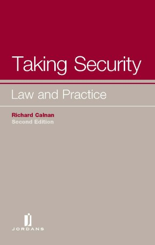 9781846612626: Taking Security: Law and Practice (Second Edition)