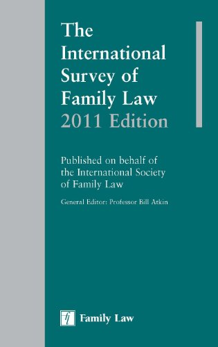 9781846612848: The International Survey of Family Law 2011 Edition