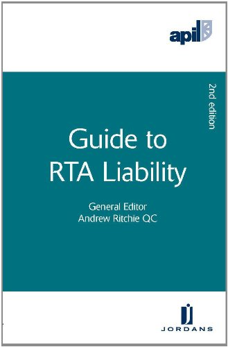 9781846613234: APIL Guide to RTA Liability: Second Edition