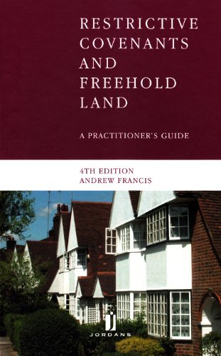 9781846615054: Restrictive Covenants and Freehold Land