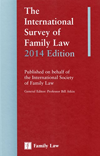 9781846619915: The International Survey of Family Law 2014 Edition