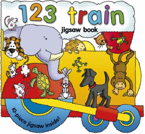 9781846660962: 123 Train (Panoramic Jigsaw Books)