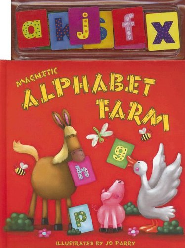 9781846662720: Magnetic Alphabet Farm with Magnetic Letters