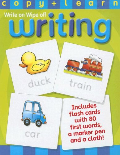 9781846663901: Write On, Wipe Off Writing [With Wipe-Clean Cloth and Wipe-Clean Marker Pen] (Early Days: Copy & Learn)