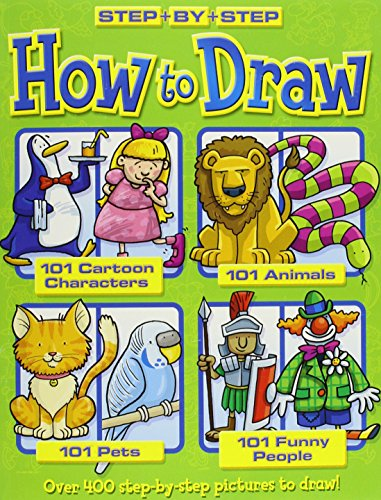 How to Draw 101 Cartoon Characters- Animals: Top That! Publishing